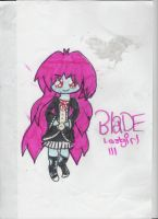 BLADE: moster high oc by lostgirl111