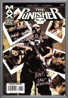 signed The Punisher MAX #43 by force2reckon