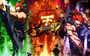 Street Fighter IV Akuma by F-1
