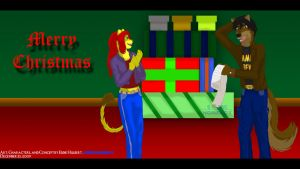 Merry Christmas 2009 by SonicHomeboy