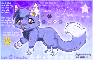 Reference Sheet - Fayla by Fayven
