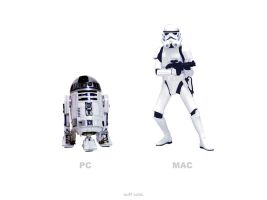 Mac vs PC: Star Wars by jayschwartz