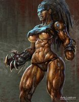 Mean Machine Angel female by KhezuG