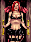 Jenny Poussin Welcome To Hell By Ange10 And Ulics by zenx007