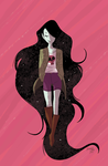 Marceline Gone Adrift Issue #4 by callupish