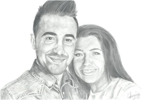 A comissioned couple by StaNitYyY