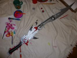 W.I.P Lightning's Gunblade Blazefire Saber by RPG-Creations