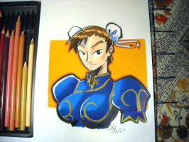 Chun li by Heriplayer