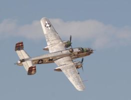 B-25J 'Panchito' by sheldondevane
