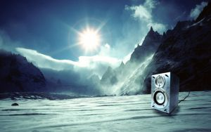 Icy Speaker by molotov-arts