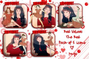 Red Velvet The Red Icons New Ver by MissCatieVIPBekah