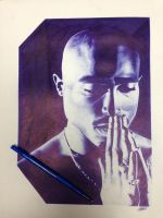 Tupac by ChrisHerreraArt