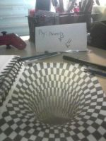 3D drawing: black hole----------By: BrunoB u.u by a1tooyou