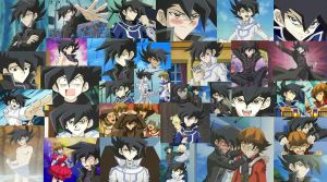 Manjoume Collage Wallpaper by ManatheDMG