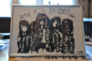 Black Veil Brides by Jooo13