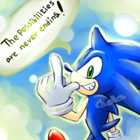 sonic by chellchell