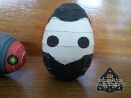 9th Doct'egg by HellswordPapercraft