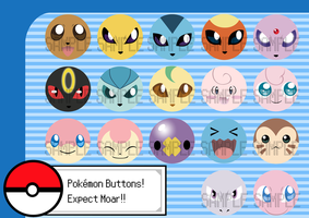 Poke Buttons 2 by snickerdoots