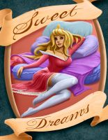 Disney Princess Aurora Sleeping Beauty by ceramicmatt