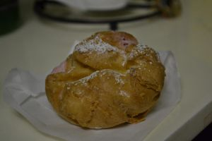 Strawberry Cream Puff by davidnguyen408