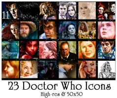 Doctor Who Series 5 Icons by Nero749