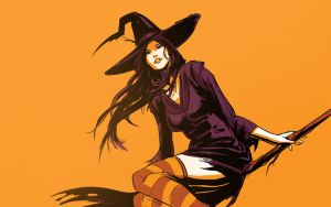 Happy Halloween - Witch by justsantiago