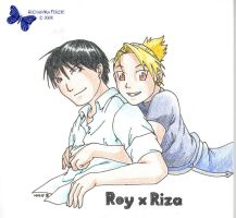 Roy x Riza by vidramidra by Alchemic-Artists