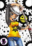 Commission: Trafalgar Law girl by Capolecos