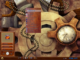 Win7 Steam Punk Theme by KeybrdCowboy