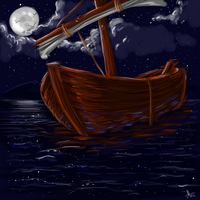 Ship in the night by MaxiMasMac