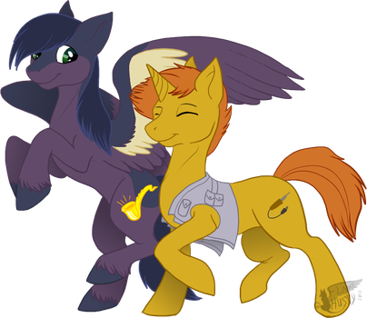 Friends by Husgryph