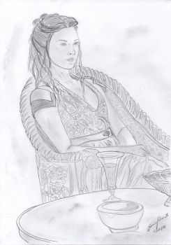 Natalie Dormer/Margery Tyrell by angel-of-darkness29