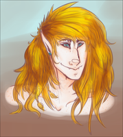 FIRENZE hair painting practice by canine-rein