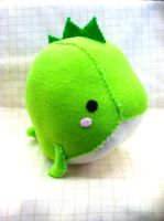 Dino Whale Plush by PinkChocolate14