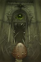 Library door... by CopperAge
