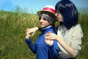 Howl and Sophie [Howl's Moving Castle] by kokoammm