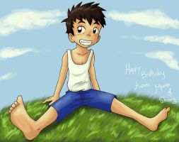 HBD Junpei by MarioRoz