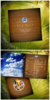 cafe SKY menu by kllof