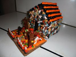 Halloween 2012 Candy House n1 by InkTheEchidna
