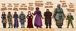 dragon age oc lineup by Mythical-Whimsy