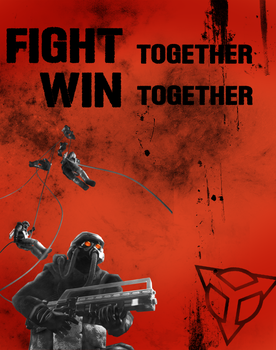 Fight together, win together by Colin-Kirby