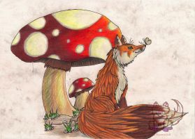 Mushroom Forest by Rianne2k8