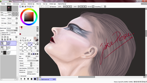 03.27.2012: Current Progress - Black Swan by Jika-Jika