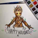 Happy holidays! by Hardrockangel