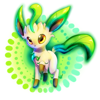 Leafeon again by Togechu