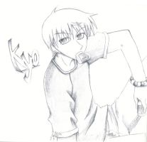 -Kyo Sohma- by Innocent-raiN
