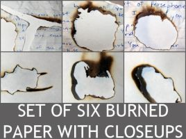 Burned Paper Stock by dyindyinjohnson