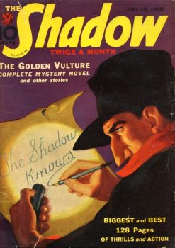 The Shadow - The Golden Vulture cover by SavageScribe