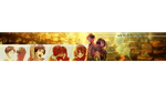 Eren x Mikasa YouTube Banner - Free by RuskaSky