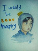 I would be sooo happy by signore-illusionista